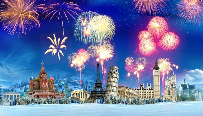 Активно празднуем Новый год
