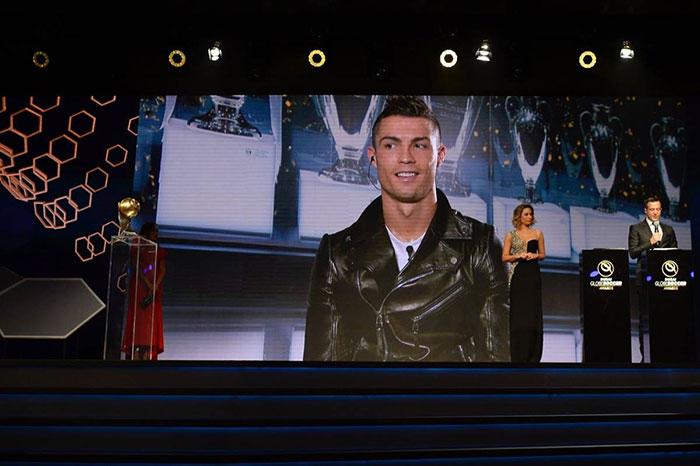 Роналду - лучший футболист 2016 по версии Globe Soccer Awards
