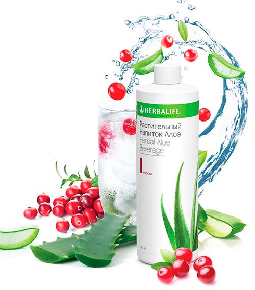 Растительный напиток Алоэ