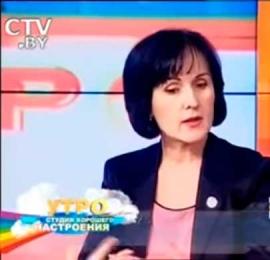 Инна Рожок о питании на телеканале СТВ